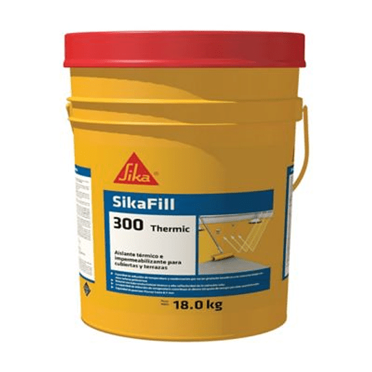 SikaFill®-300 Thermic gris de 18 kg