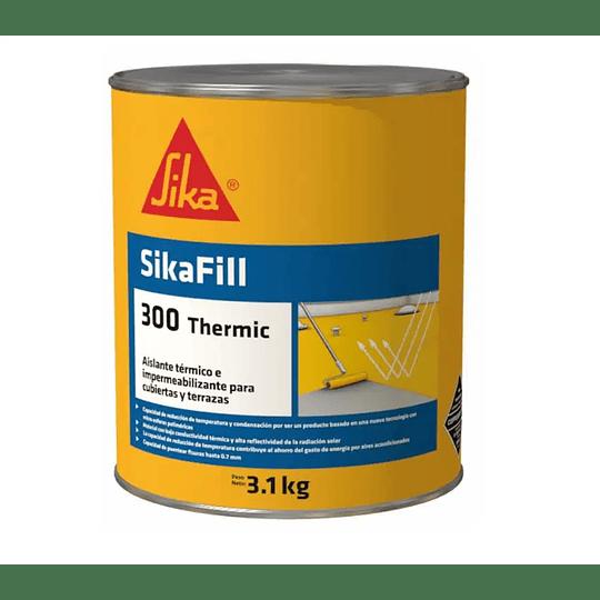 SikaFill®-300 Thermic rojo de 3.1 kg
