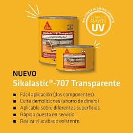 Sikalastic®-707 Transparente de 4 Kg