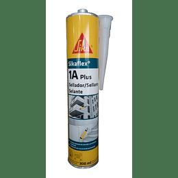 Sikaflex®-1A PLUS Cartucho de 300 ml Negro