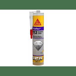 Sikaflex®-112 Crystal Clear Cartucho de 290 ml