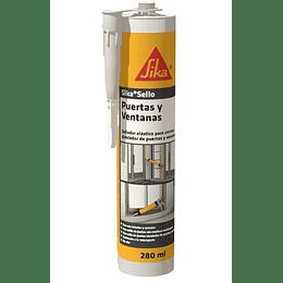 Sika® Sello Puertas y Ventanas cartucho de 280 ml blanco