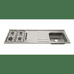 Mesón radiante 180x52 4G derecho monocontrol - Socoda