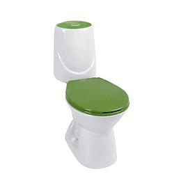 Sanitario happy verde bicolor - Corona