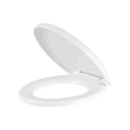 Asiento active cierre suave redondo blanco - Corona