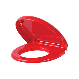 Asiento institucional infantil rojo - Corona