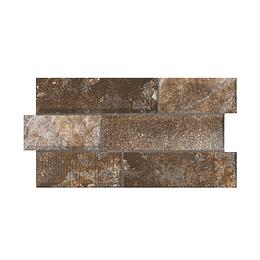 Fachaleta maite óxido caras diferenciadas - 34,5x62 cm - caja: 1.71 m2 - Corona