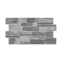 Fachaleta corrientes gris caras diferenciadas - 34,5x62 cm - caja: 1.71 m2 - Corona