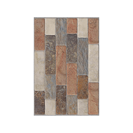 Fachaleta tanzania multicolor caras diferenciadas - 30x45 cm - caja: 1.5 m2 - Corona