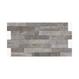 Fachaleta tunjo gris caras diferenciadas - 34,5x62 cm - caja: 1.71 m2 - Corona