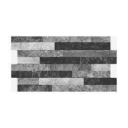 Fachaleta tunjo negro caras diferenciadas - 34,5x62 cm - caja: 1.71 m2 - Corona