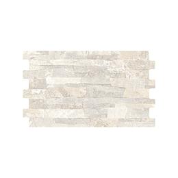 Fachaleta jaen blanco caras diferenciadas - 25x41 cm - caja: 1.54 m2 - Corona