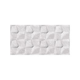 Pared estructurada abril gris claro caras diferenciadas - 30x60 cm - caja: 1.08 m2 - Corona