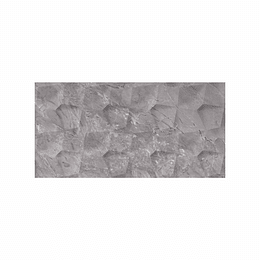 Pared estructurada abril gris oscuro caras diferenciadas - 30x60 cm - caja: 1.08 m2 - Corona