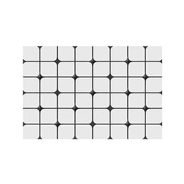 Pared estructurada myra negro cara única - 30x45 cm - caja: 1.5 m2 - Corona