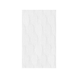 Pared estructurada mayari blanco cara única - 25x43 cm - caja: 1.29 m2 - Corona