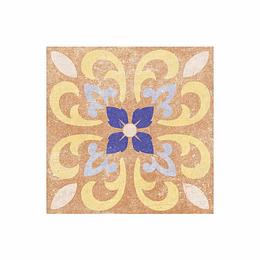 Cuadrado idris multicolor cara única - 19.8x19.8 cm - unidad - Corona