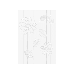 Pared marcel blanco cara única - 25x35 cm - caja: 2 m2 - Corona