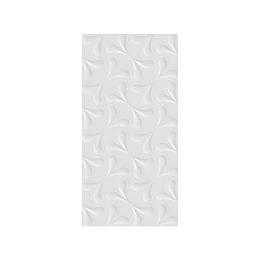 Pared estructurada nanto blanco cara única - 30x60 cm - caja: 1.08 m2 - Corona