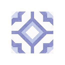 Cuadrado kaled azul cara única - 19.8x19.8 cm - unidad - Corona