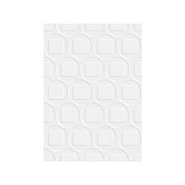 Pared mayal blanco cara única - 25x35 cm - caja: 2 m2 - Corona