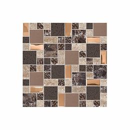 Mosaico kogui café cara única - 30x30 cm - unidad - Corona