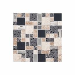 Mosaico arahuaco gris cara única - 30x60 cm - unidad - Corona