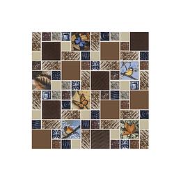 Mosaico valquiria café cara única - 30x30 cm - unidad - Corona