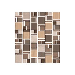 Mosaico terra marfil cara única - 30x33 cm - unidad - Corona