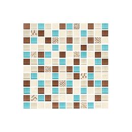 Mosaico nuevo rauni azul cara única - 30x30 cm - unidad - Corona