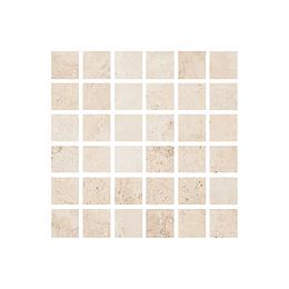 Mosaico ekko beige cara única - 30.5x30.5 cm - unidad - Corona