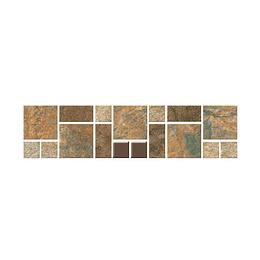 Mosaico santa bibiana multicolor cara única - 7.3x29.8 cm - unidad - Corona