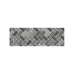 Listón maracaibo negro cara única - 15x45 cm - unidad - Corona