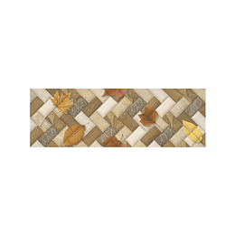 Listón zimbabwe beige cara única - 15x45 cm - unidad - Corona