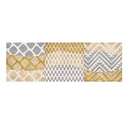 Listón samoa beige cara única - 15x45 cm - unidad - Corona
