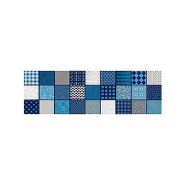 Listón aries azul cara única - 13.5x43 cm - unidad - Corona