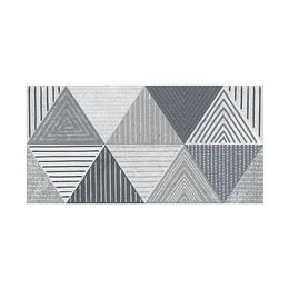 Base decorada indi rombos gris cara única - 30x60 cm - unidad - Corona