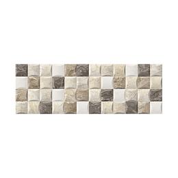 Base decorada chipre taupe cara única - 20x60 cm - unidad - Corona