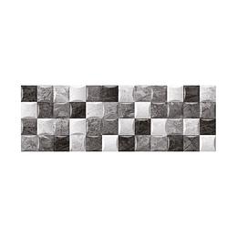 Base decorada chipre negro cara única - 20x60 cm -  unidad - Corona