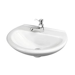 Lavamanos milano de colgar blanco - Corona
