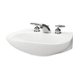 Lavamanos maximo de pedestal blanco - Corona