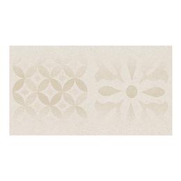 Contrahuella decorada piedra beige cara única - 16.5x30 cm - unidad - Corona