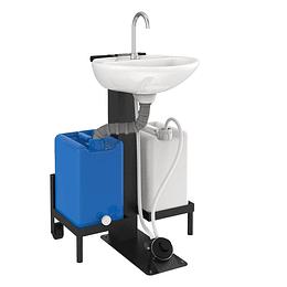 Estación de lavado autónoma pedestal - Corona