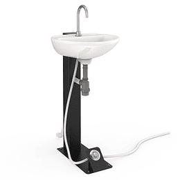 Estación de lavado autocontenida pedestal - Corona