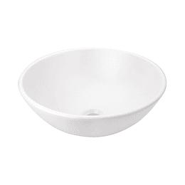 Lavamanos spazio II vessel sin desagüe blanco - Corona