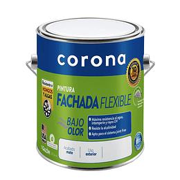 Pintura fachada gris cemento 1/1 - Corona
