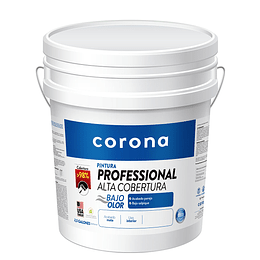 Pintura professional alta cobertura blanco 1/2 - Corona