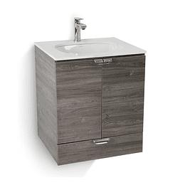 Mueble cascade lavamanos de incrustar - Corona