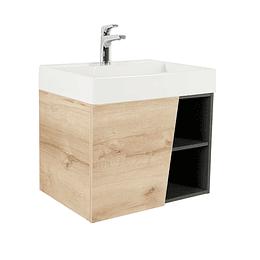 Mueble fussion vital 60 cm con lavamanos - Corona