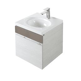 Mueble elipse plus 45 cm con lavamanos - Corona